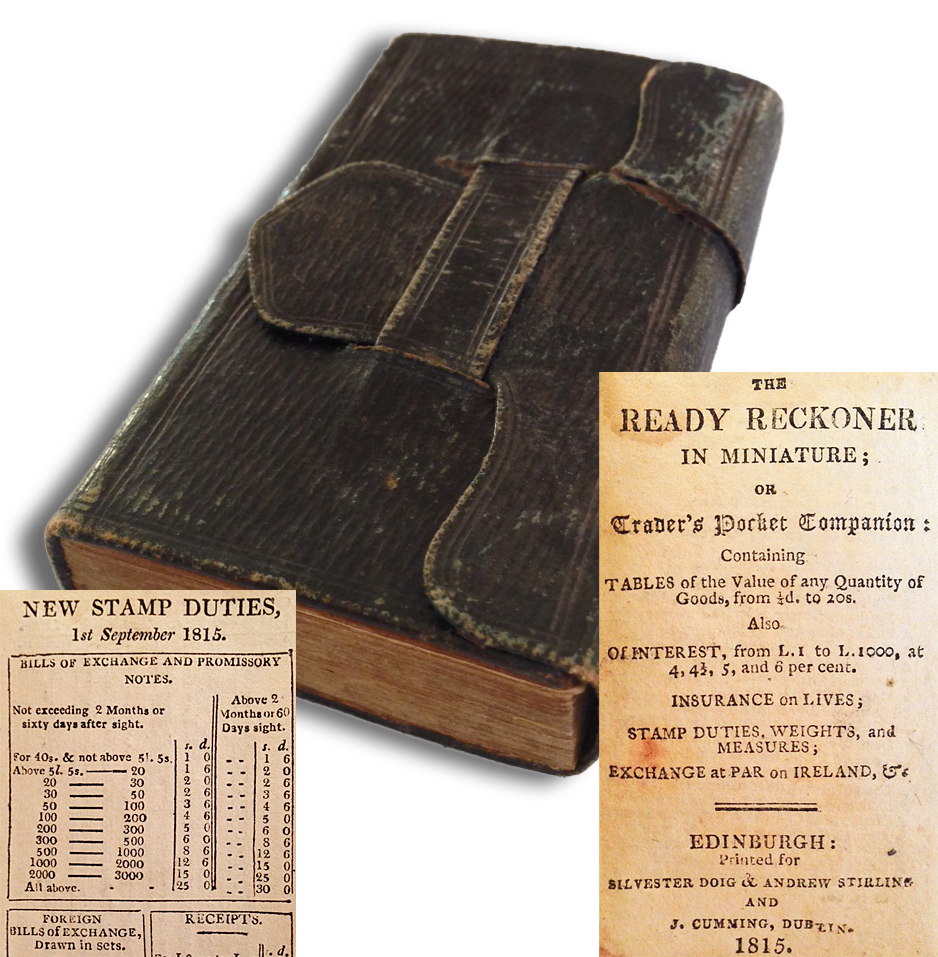 The Ready Reckoner In Miniature Or Traders Pocket Companion Containing Tables Of Value Any Quantity Goods From 1 2d To 20s