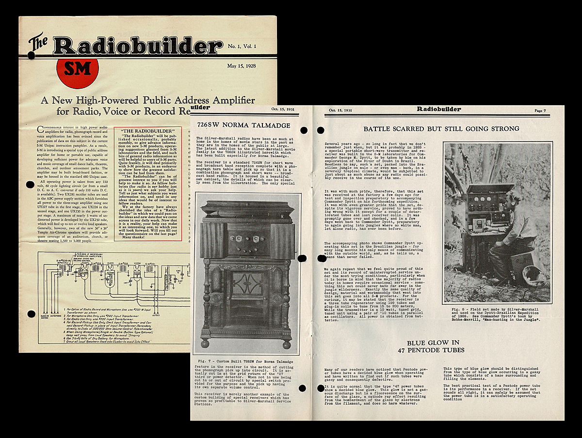 The Radiobuilder Newsletter Vol 1 No 25 1928 32 Silver Therefore F Rom This Circuit You Can Detect Electromagnetic Waves