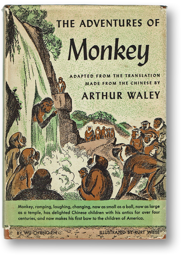 The Adventures of Monkey (Kurt Wiese Illustrations, Chinese Folk Tales). Wu Ch'eng-en, Arthur - Waley.