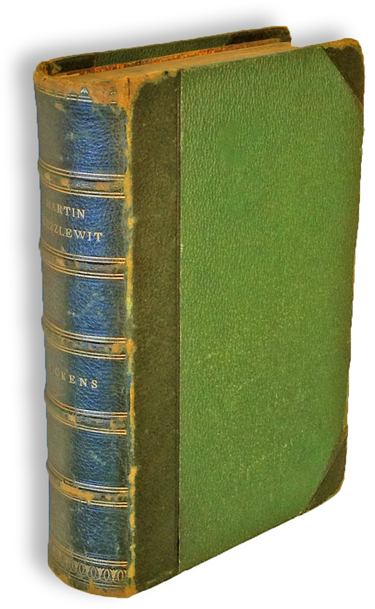 The Life and Adventures of Martin Chuzzlewit (First Edition, Books into Film). Charles Dickens.