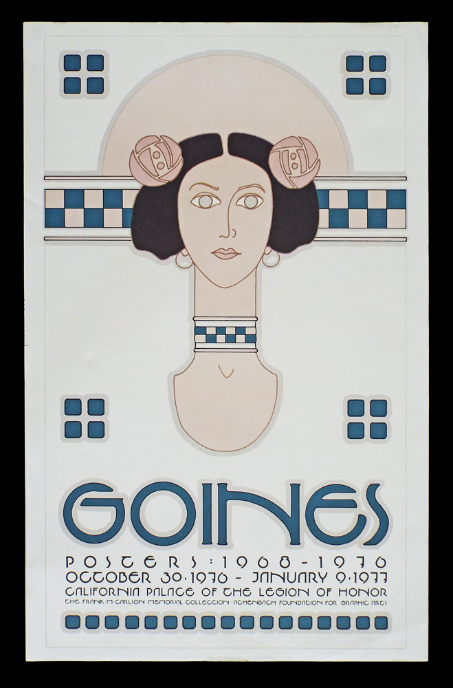 Goines: California Palace Of The Legion Of Honor (Lithograph Poster, Goines # 61). David Lance Goines.