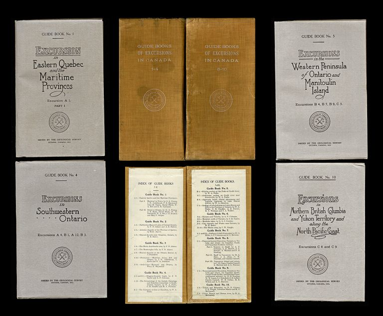 Twelfth International Geological Congress : Guide Books of Excursions in Canada (Railway, Muskoka, Rockies, Yukon, W. Notman) (13 Volumes). R. G. McConnell, Charles Camsell, A. P. Coleman, W. A. Parks.