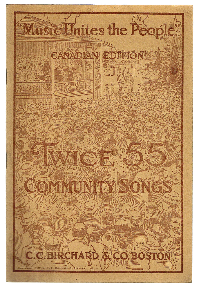 Twice 55 Community Songs : Canadian Edition (Song Book). Peter W. Dykema.