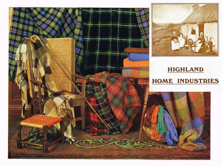 Highland Home Industries Ltd. (Scottish Handcrafters Trade Catalogue). Highland Home Industries Ltd, Edinburgh.