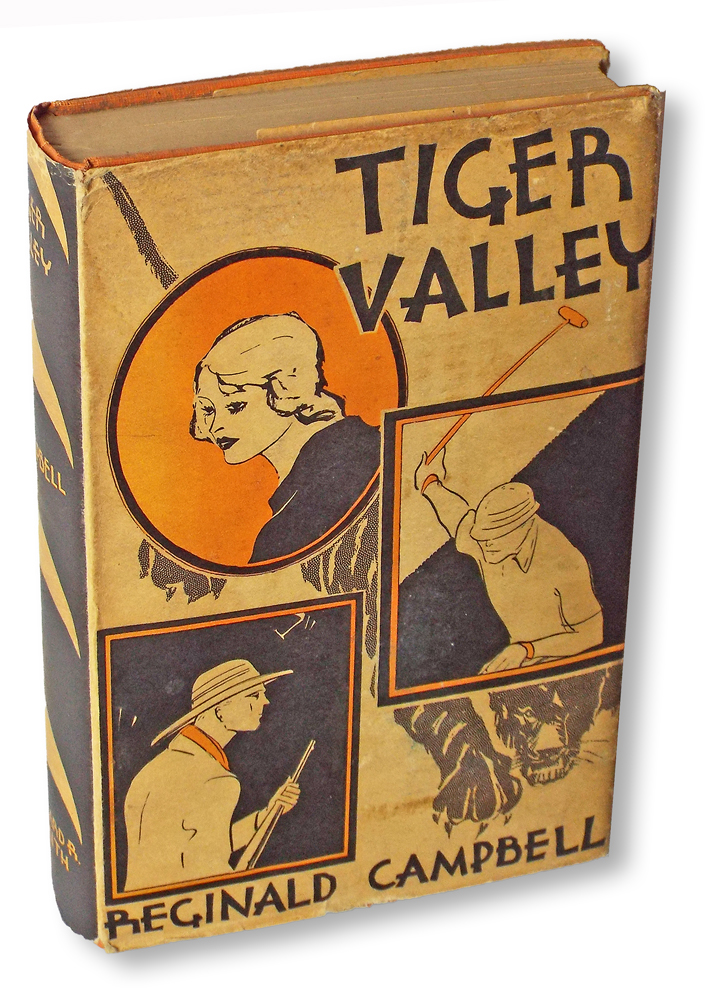 Tiger Valley (First Edition, Books into Film). Reginald Campbell.