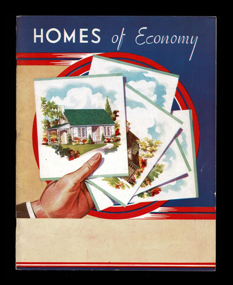 Homes of Economy (1940's House Plan Catalogue). Ltd National Plan Service.