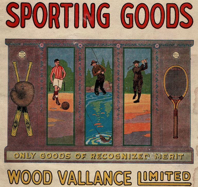 Sporting Goods Spring & Summer Catalogue 1921 (Trade Catalogue). Wood Valance Limited.