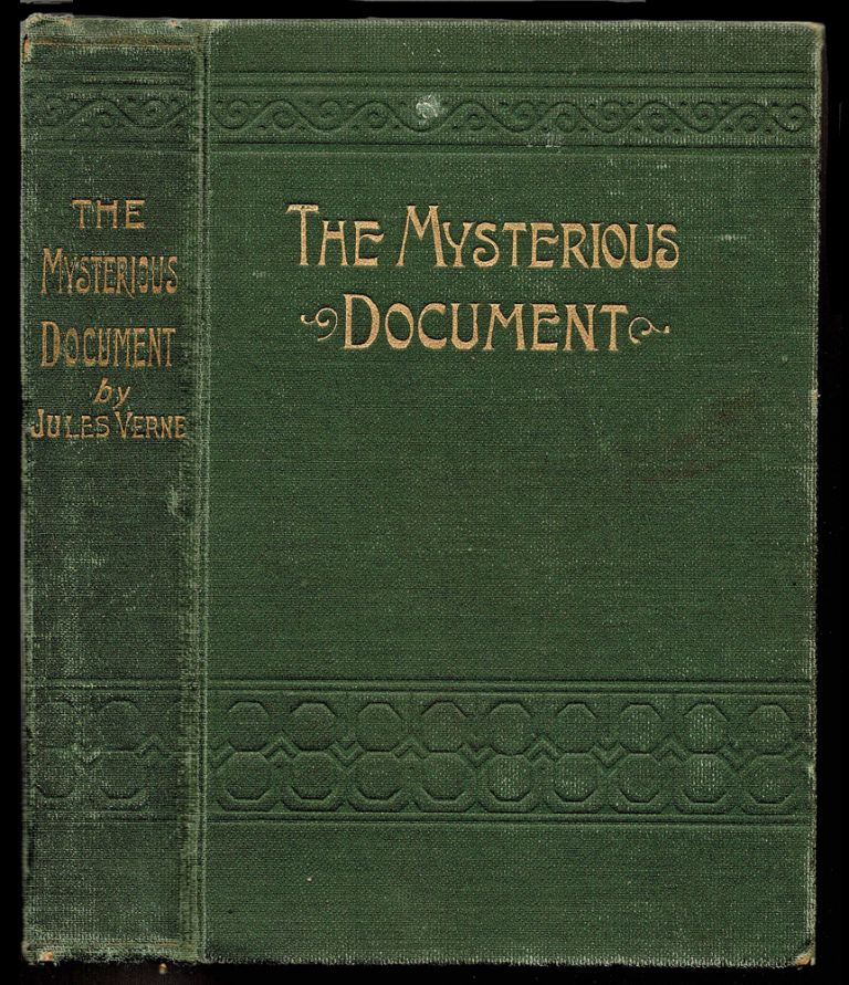 The Mysterious Document. Jules Verne.