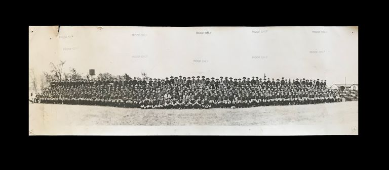 [Boy Scouts, Sea Scouts, Rovers] Panoramic Photograph of The First Canadian Jamboree - July 16-24, 1949 at Connaught Camp - Ottawa. Boy Scouts of Canada.