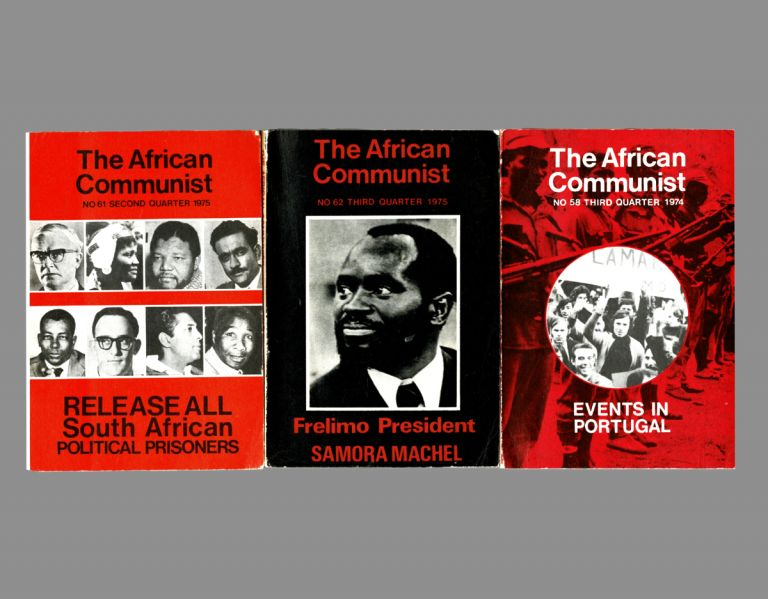 The African Communist (Quarterly). No's. 58, 61 & 62. The South African Communist Party.