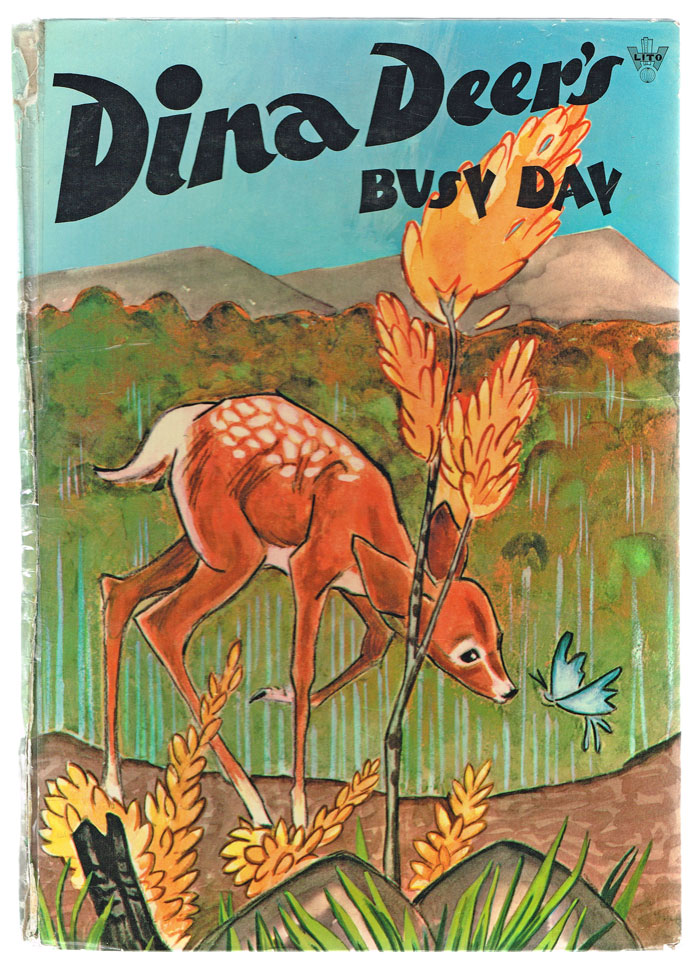 Dina Deer's Busy Day (Collectible Children's Books, Color Lithographs). Mary Lee Axelson.