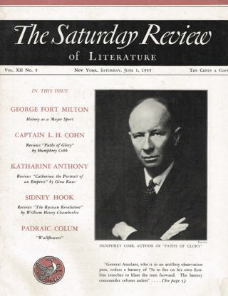 The Saturday Review of Literature - Saturday, June 1, 1935 Vol. XII No. 5. Henry Seidel Canby
