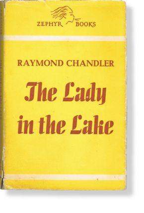 The Lady in the Lake (Zephyr Books No. 162, Philip Marlowe, Books into Film). Raymond Chandler.