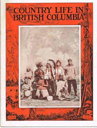 "Country Life In British Columbia : June, 1927 (Anmore, L.M. Montgomery). Margaret L. ""Ma"" Murray."