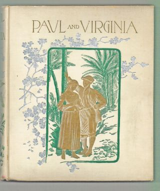 Paul and Virginia (American Gift Book, Early Dust Jacket, Holiday Edition)