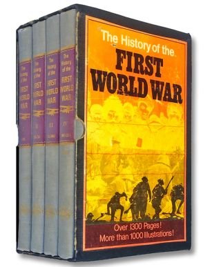The History of the First World War. Commemorative Edition (Slipcased 4 Volume Set). Contributing,...