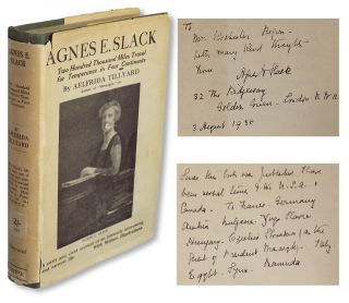 Women's Rights & Temperance] Agnes E. Slack : Two Hundred Thousand Miles Travel for Temperance in...