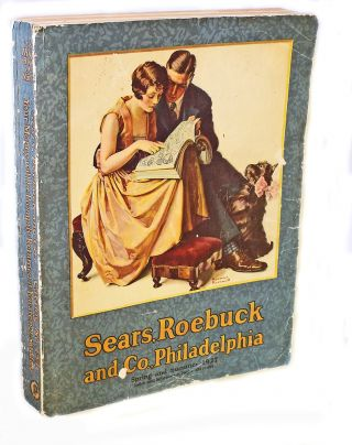 First Norman Rockwell Cover] Sears Roebuck and Company. Catalog No. 154, Spring and Summer 1927....