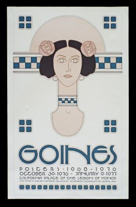Goines: California Palace Of The Legion Of Honor (Lithograph Poster, Goines # 61). David Lance...