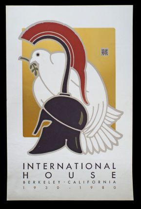 International House (Lithograph Poster, Goines # 84). David Lance Goines