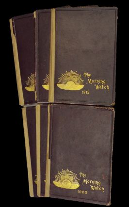 The Morning Watch * 6 Bound Annual Volumes 1905-1912 * (Illustrated Edwardian Children's...