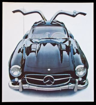 '55 Mercedes Benz 300 SL (Cleworth, Mercedes Gullwing, Signed Limited Edition Lithograph Print). Harold James Cleworth.
