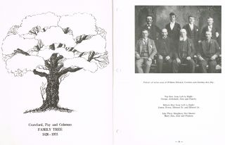 Crawford, Pay and Coleman Family Tree : 1826 - 1973 (Genealogy). Willian Herbert Crawford, Norman...