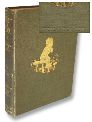 Peter Pan in Kensington Gardens (Presentation Copy). J. M. Barrie.