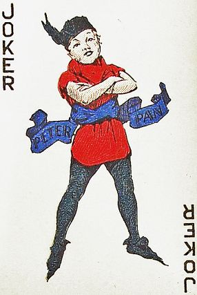 Peter Pan Minature Playing Cards. J. M. Barrie.