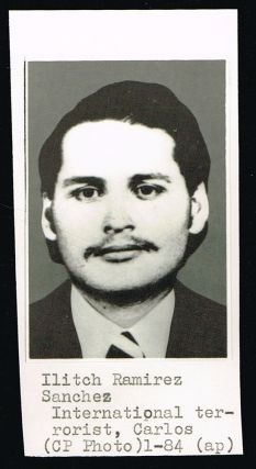 "Original ""Carlos The Jackal"" Press Photo. The Canadian Press"