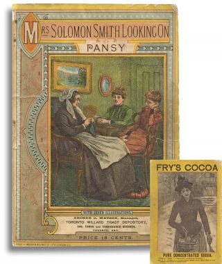 Mrs. Solomon Smith Looking On (19th Century Canadian Magazine Imprint)