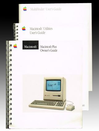 Macintosh MultiFinder User's Guide ; Macintosh Plus Owner's Guide ; Macintosh Utilities User's Guide (Apple Computers). Inc Apple Computer.