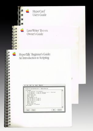 Macintosh HyperCard User's Guide ; Macintosh HyperCard Beginner's Guide ; Apple LaserWriter...