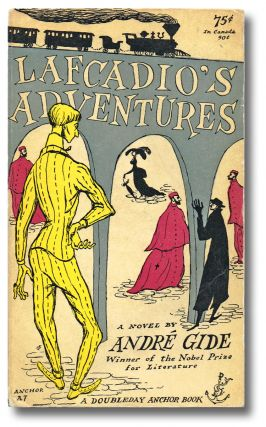Lafcadio's Adventures (Edward Gorey's First Cover). André Gide, Nobel Prize Winner.