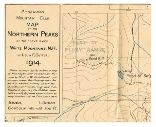 Appalachia : Vol. XIII No. II - October, 1914 (w. Map of the Northern Peaks of the Great Range...