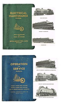 Operation and Service Manual : 1600-HP 4 Motor Road Switcher / 1600-HP 6 Motor Switcher / 1600-HP...