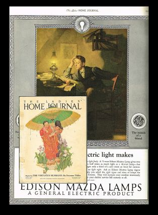The Ladies' Home Journal. April 1925 - Vol. 42 No. 4 (Norman Rockwell). Barton W. Currie