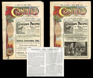 Canada. An Illustrated Weekly Journal for all Interested in the Dominion - May 26 & June 16, 1917...