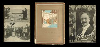 1917-18 Schedule of Long Beach Redpath Lyceum Bureau (The Montague's ; Montraville Wood ; Ben Greet Players ; American Girls Trio ; Thomas Brooks Fletcher ; Alton Packard ; The Shumann Quintet ; Laurant [Magician] & Company). Long Beach Redpath Lyceum Bureau.