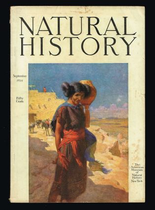 Natural History : The Journal of The American Museum of Natural History. Volume XXXIV No. 5....