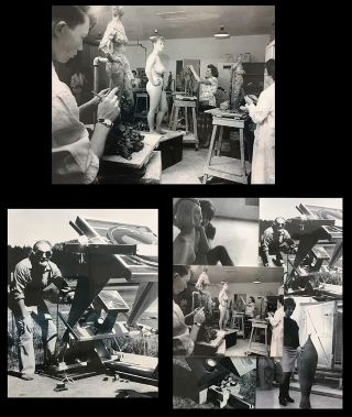 Five Art School Photographic Images