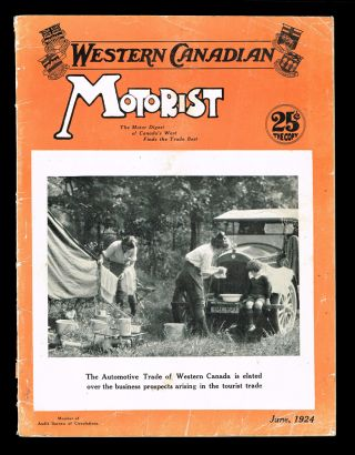 Western Canadian Motorist. Vol. XIII No. 6 - June, 1924. Trade-In Number