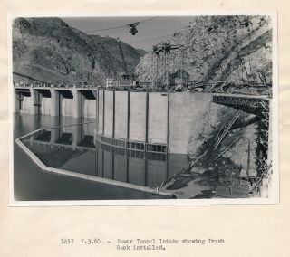 Documentary Archive of Photographs Showing the Construction of the Warsak Hydro-Electric Dam, Power Plant and Irrigation Tunnel in Pakistan 1956-1960
