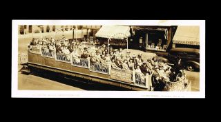 WW II era B.C. Electric Railway Co. Observation Car Photograph. Harry Bullen