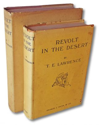 Revolt in the Desert (1st & 2nd Australasian Editions w. Dust Jackets). T. E. Lawrence