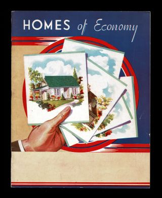 Homes of Economy (1940's House Plan Catalogue