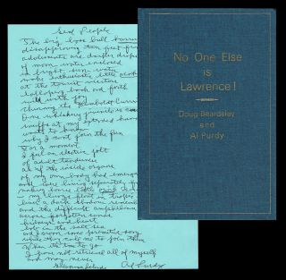 No One Else Is Lawrence! : A Dozen of D.H. Lawrence's Best Poems (w. Manuscript Poem by Al Purdy)