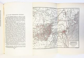 """Light on the Underground Railroad"" w. Color Map, Fugitive Slaves] The American Historical..."