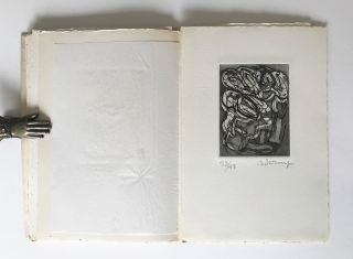 "[Artist's Book w. Signed Prints] Mouvement de Folie (English Title ""Movement of Madness"")"