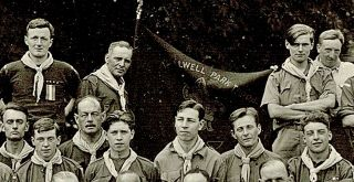 [Gilwell Park, Boy Scouts] 2nd London Gillwell Scout Course. Denham, 1923.